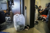 University students pack their rooms to leave due to COVID-19