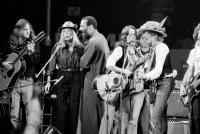 Roger McGuinn, Joni Mitchell, Richie Havens, Joan Baez and Bob Dylan perform