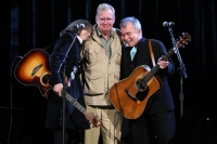 Nanci Griffith, Jim Rooney, and John Prine at the 2009 Americana Music Association awards show