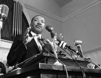 Martin Luther King Jr. speaks in Atlanta