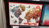 A butterfly puzzle