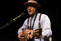 Dom Flemons at the 2019 Simply Folk Shindig
