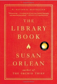 Cover photo of The Library Book by Susan Orlean