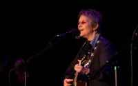 Mary Gauthier performing at the 2019 Simply Folk Shindig