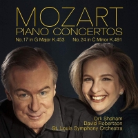 Mozart Piano Concertos album cover