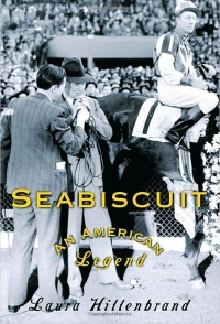 Bookcover for Seabiscuit by Laura Hillenbrand