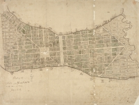 1836 plat map of Madison