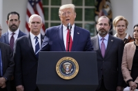 President Trump announces national emergency