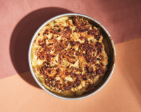 """Cauliflower gratin from """"Nothing Fancy"""" by Alison Roman"""