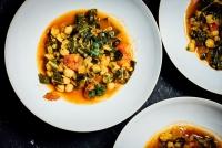 Collard Greens Chickpea Lentil Soup