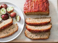Turkey Meatloaf with Ketchup-Brown Sugar Glaze