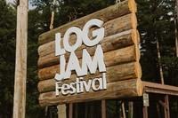 LogJam Festival Sign