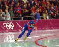 Speed skater Bonnie Blair