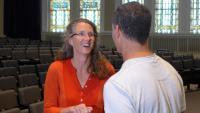 University of Wisconsin-Milwaukee professor Anne Basting