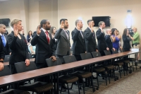 Madison Police Department Training Academy recruits