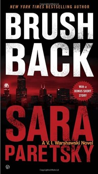 Book cover image for Brush Back By Sara Paretsky