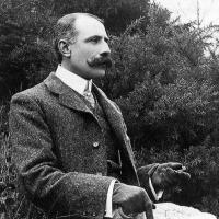 Composer Sir Edward Elgar