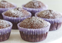 Gluten-free flourless chocolate cake