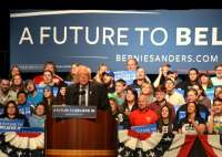 Bernie Sanders in Wausau