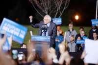 Bernie Sanders rally in the South Bronx