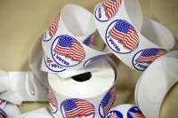 """I voted!"" stickers"