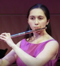 Flutist Holly Venkitaswaran