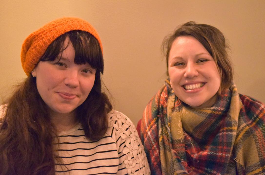 Halley Pucker and Dana Gerber-Margie