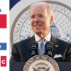 an image of president joe biden at a podium and text that says america are we ready special thursdays at 7