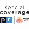 the words special coverage and logo for wpr and npr